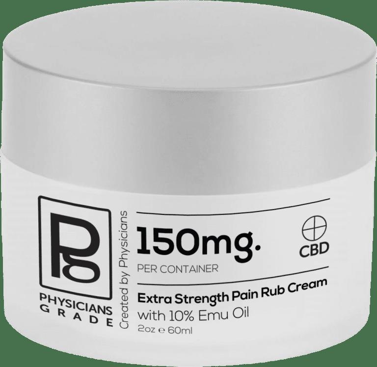 CBD Pain Rub Cream + 150mg