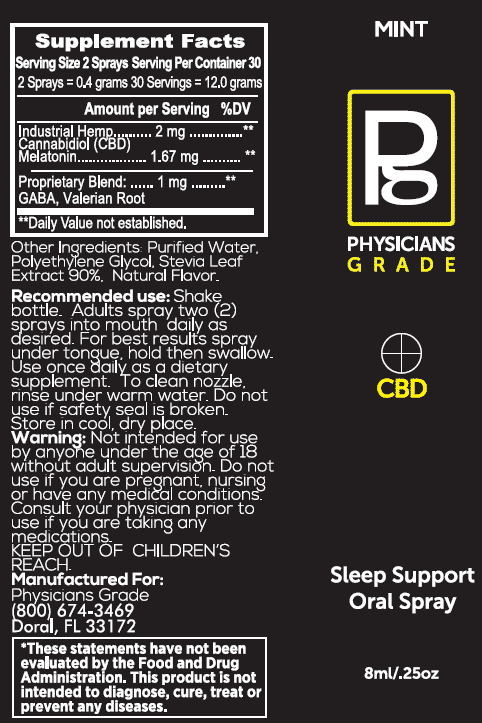 CBD Sleep Support Spray