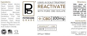 Leave-In Scalp Treatment + 100mg CBD