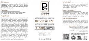 Ultra-Nourishing Revitalize Shampoo + 100mg CBD