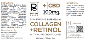 Collagen & Retinol + 100mg CBD