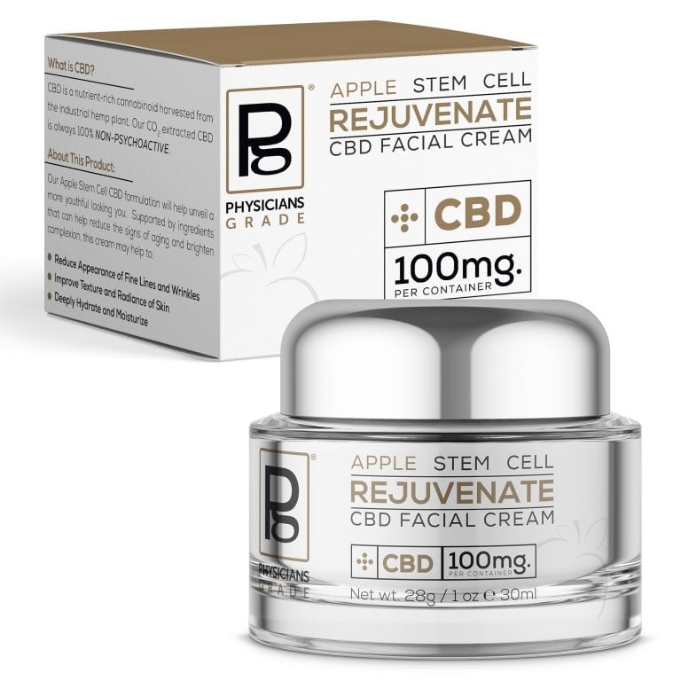 Apple Stem Cell Cream + 100mg CBD