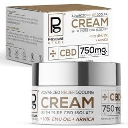 Advanced Relief Cooling Cream + 750mg CBD