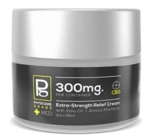 Topical Relief Cream + 300mg CBD