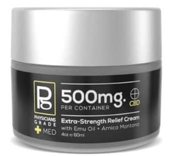 Topical Relief Cream + 500mg CBD